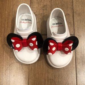 MIni Melissa Minni Mouse® Sneakers, Like new!